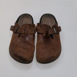 Birkenstock Brown Clogs Size 41